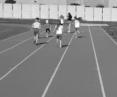 Bežecké kritérium na ZŠ Zarevúca 1. ročník